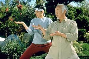 Daniel-son and Mr. Miyagi