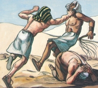 moses kills egyptian