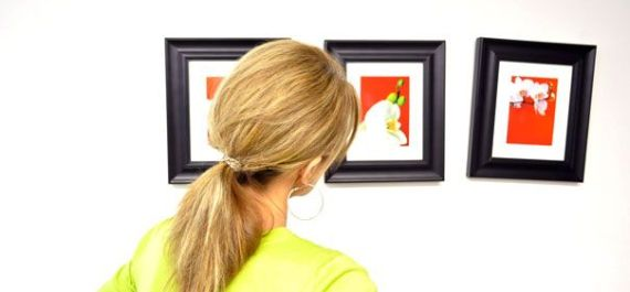 crooked picture frame